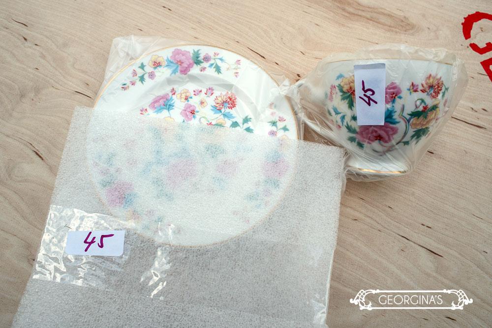Tassen Einpacken : Georginas vintage porzellan verleih transportkiste